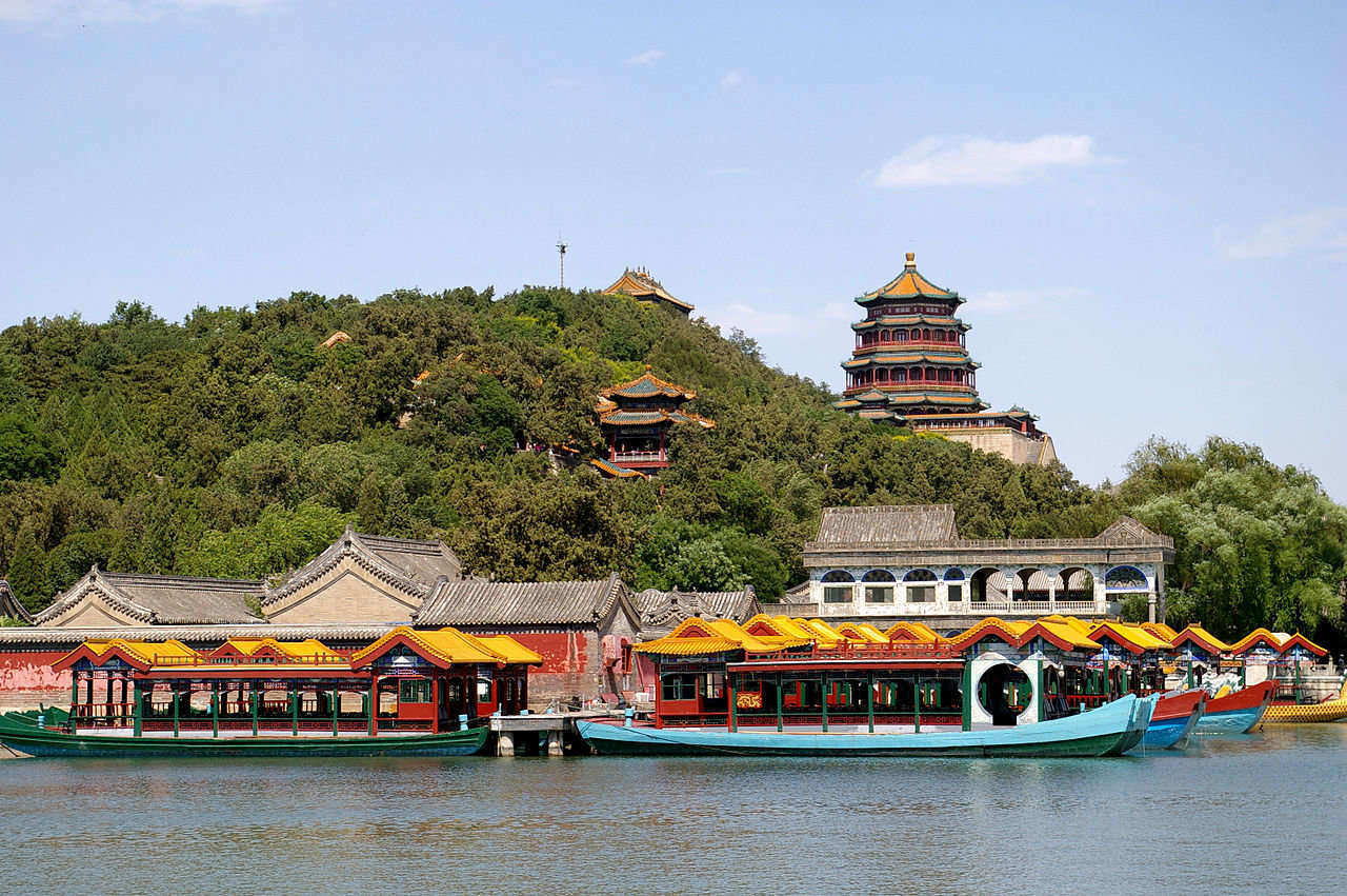 Best time to visit Beijing in Summer : Summer Palace
