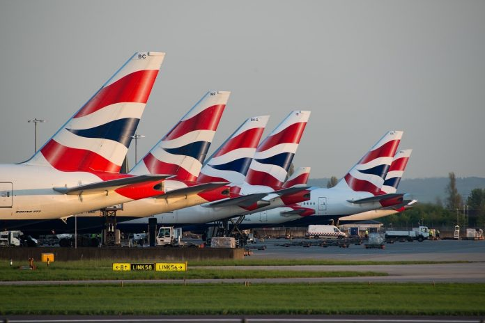 British Airways tails