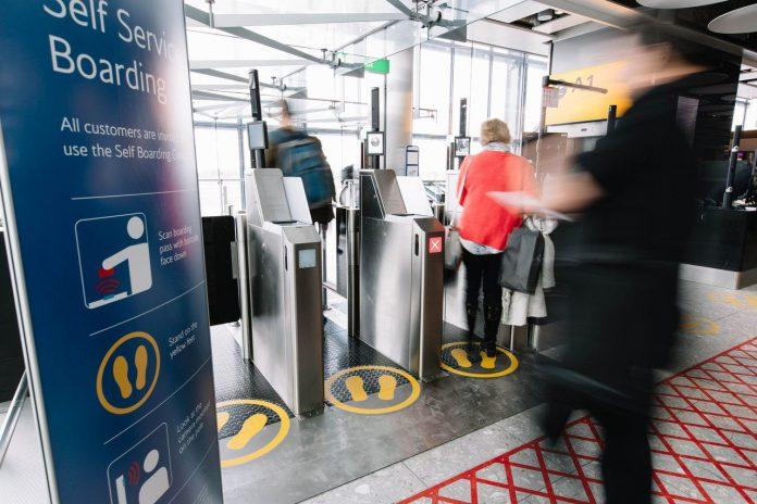 Biometric technology with british airways