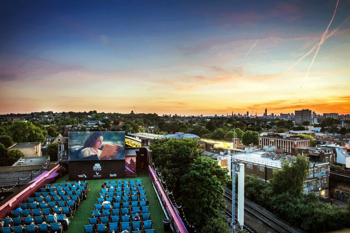 Bussey Rooftop Bar, The Bussey Building