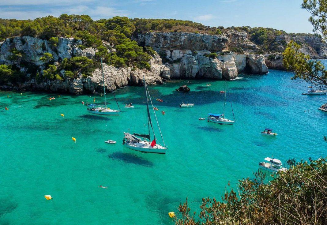 Cala Macarella, Balearics