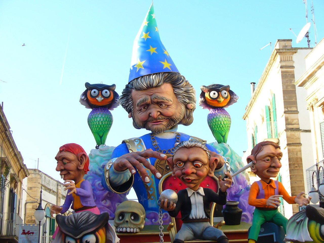 Carnavale di Putignano, Puglia