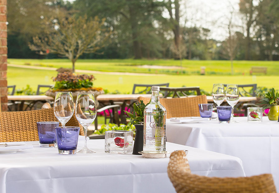 Chewton Glen dining tables