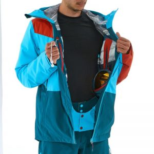 decathlon Free 700 jacket - snow skirt