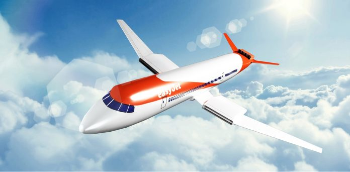 easyJet wright electric plane
