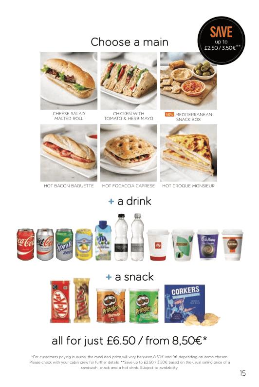easyJet Meal Deal