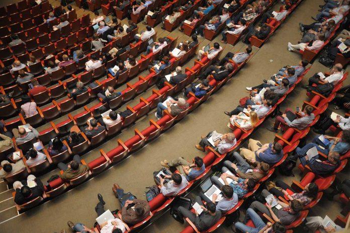 Conference auditorium