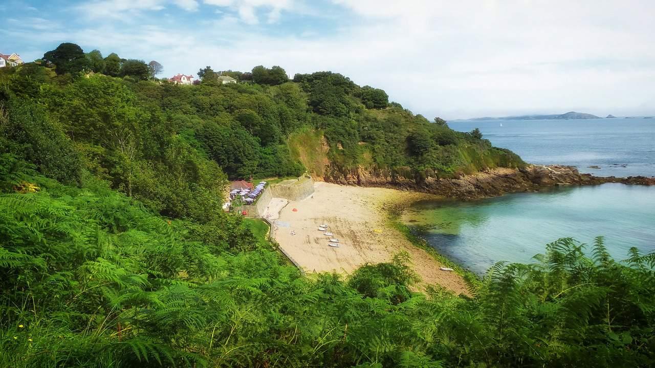 Fermain Bay, Guernsey