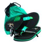 Flip Flops 'n' Shades - green