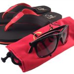 Flip Flops 'n' Shades - red