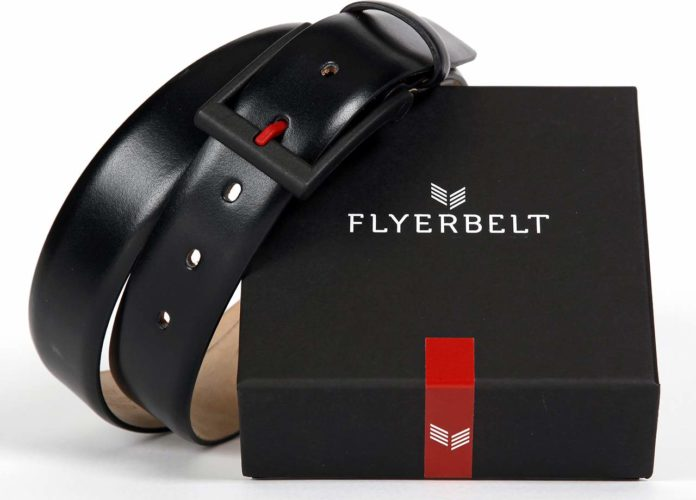 Flyerbelt - metal-free belt for frequent travellers