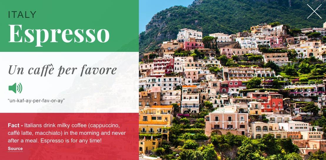 FreshGround : Italy