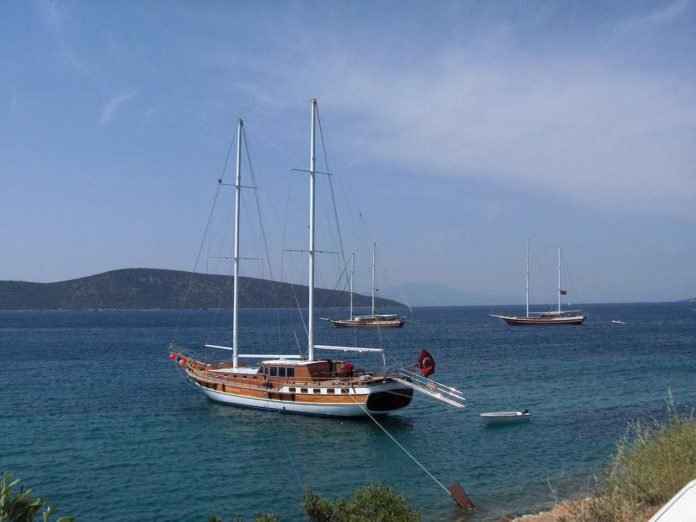 5 winter sun destinations easy to get to from the UK gulet in Bodrum Turkey 696x522