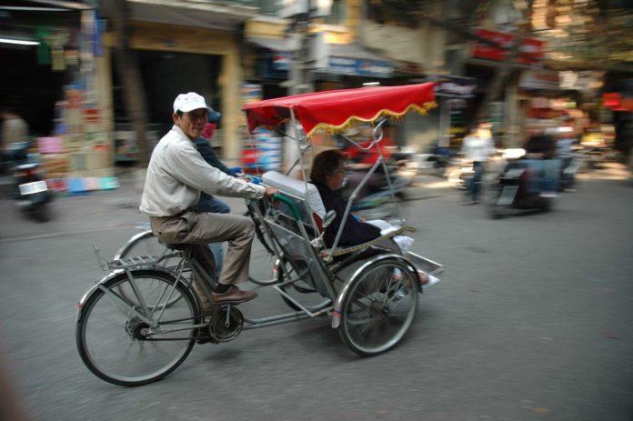 Ho Chi Minh City cyclo