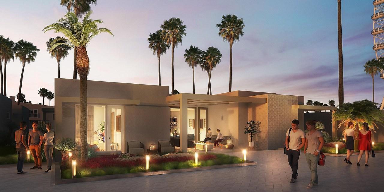 hotel indigo Coachella, California - artist impression