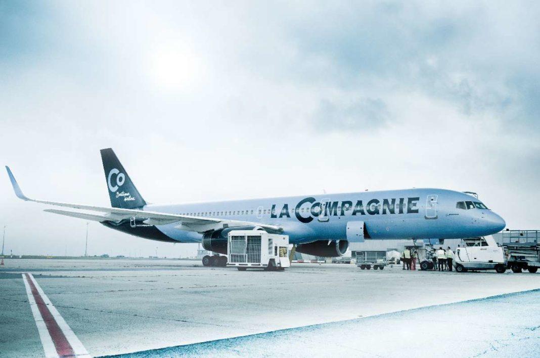 La Compagnie - aircraft
