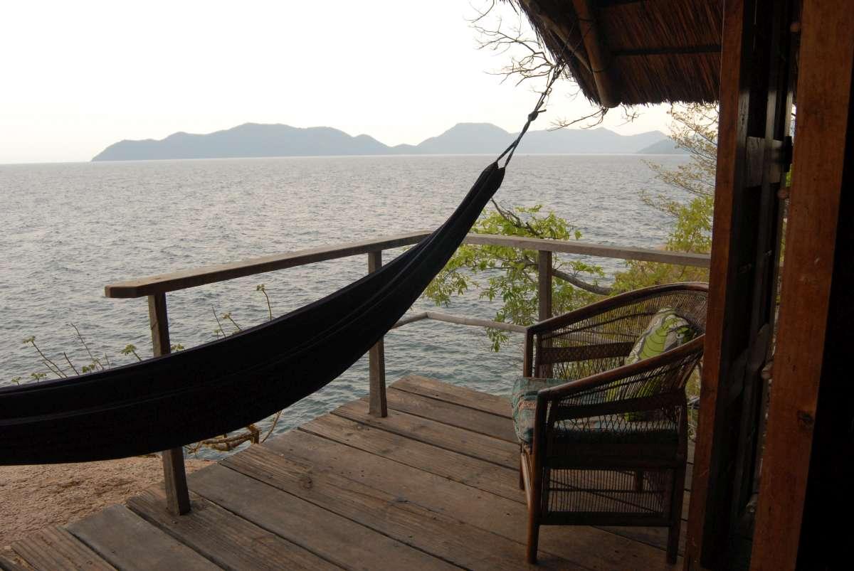 Lake Malawi: hammock