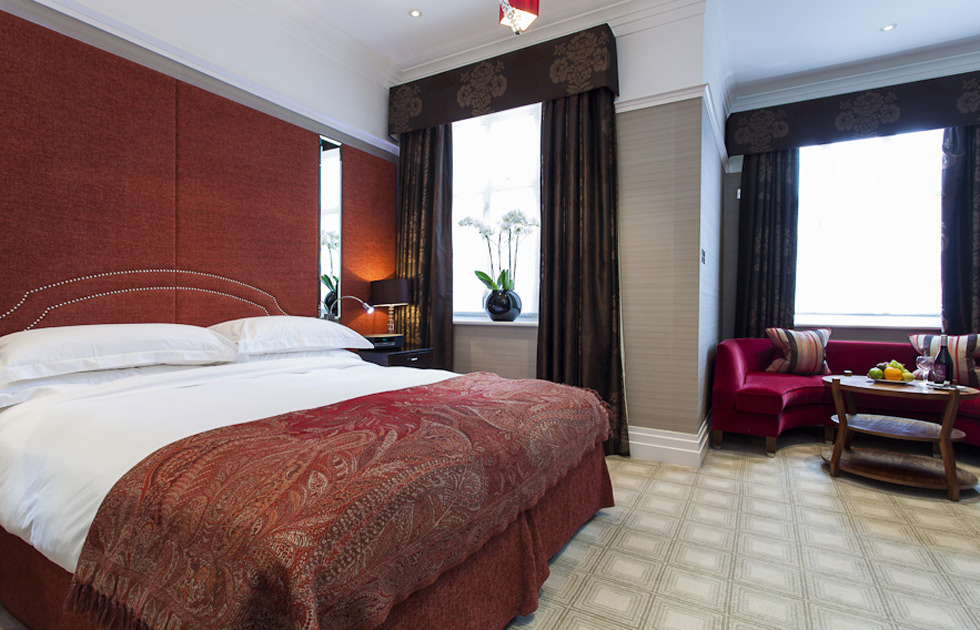 Double Bedroom at The Levin Hotel, London