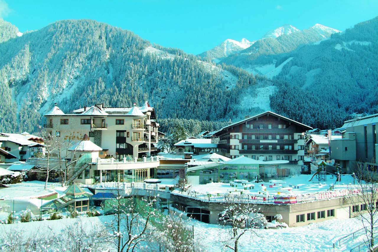 Mayrhofen spa hotel strass