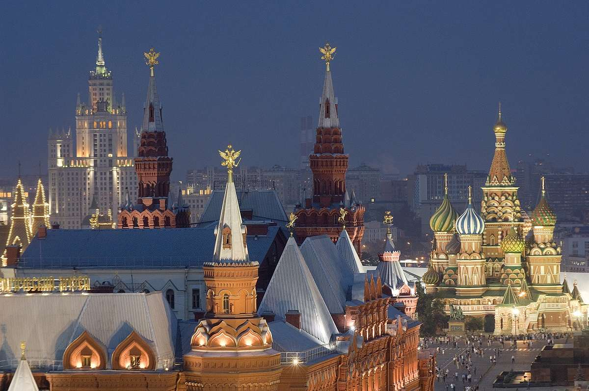 View from Ritz Carlton, Moscow