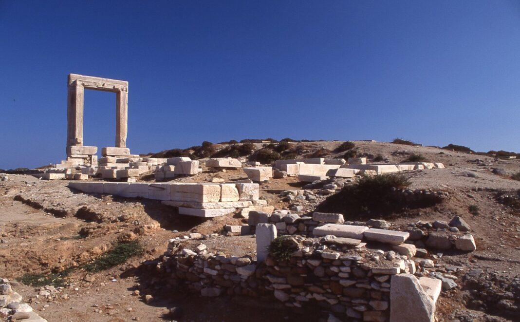 The island of Naxos, Cyclades