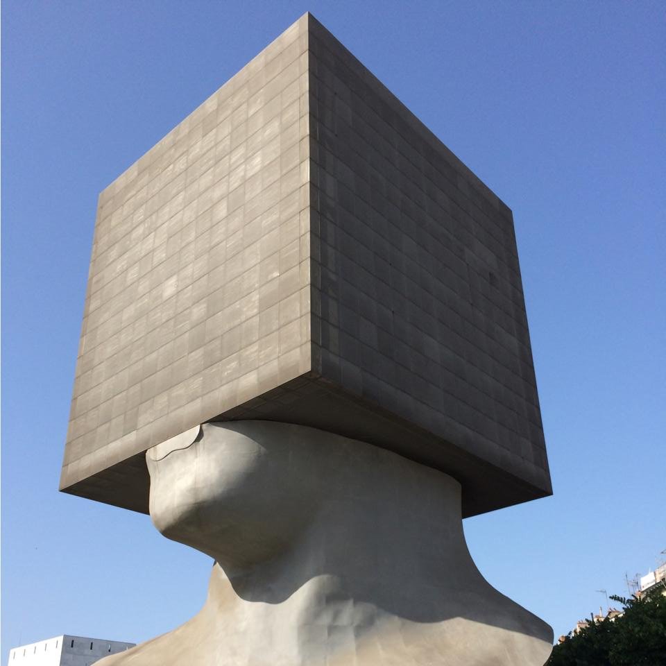 La Tête au Carré (The Square Head)
