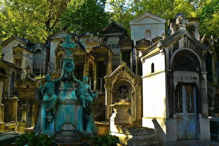 Pere-Lachaise Cemetery, Paris