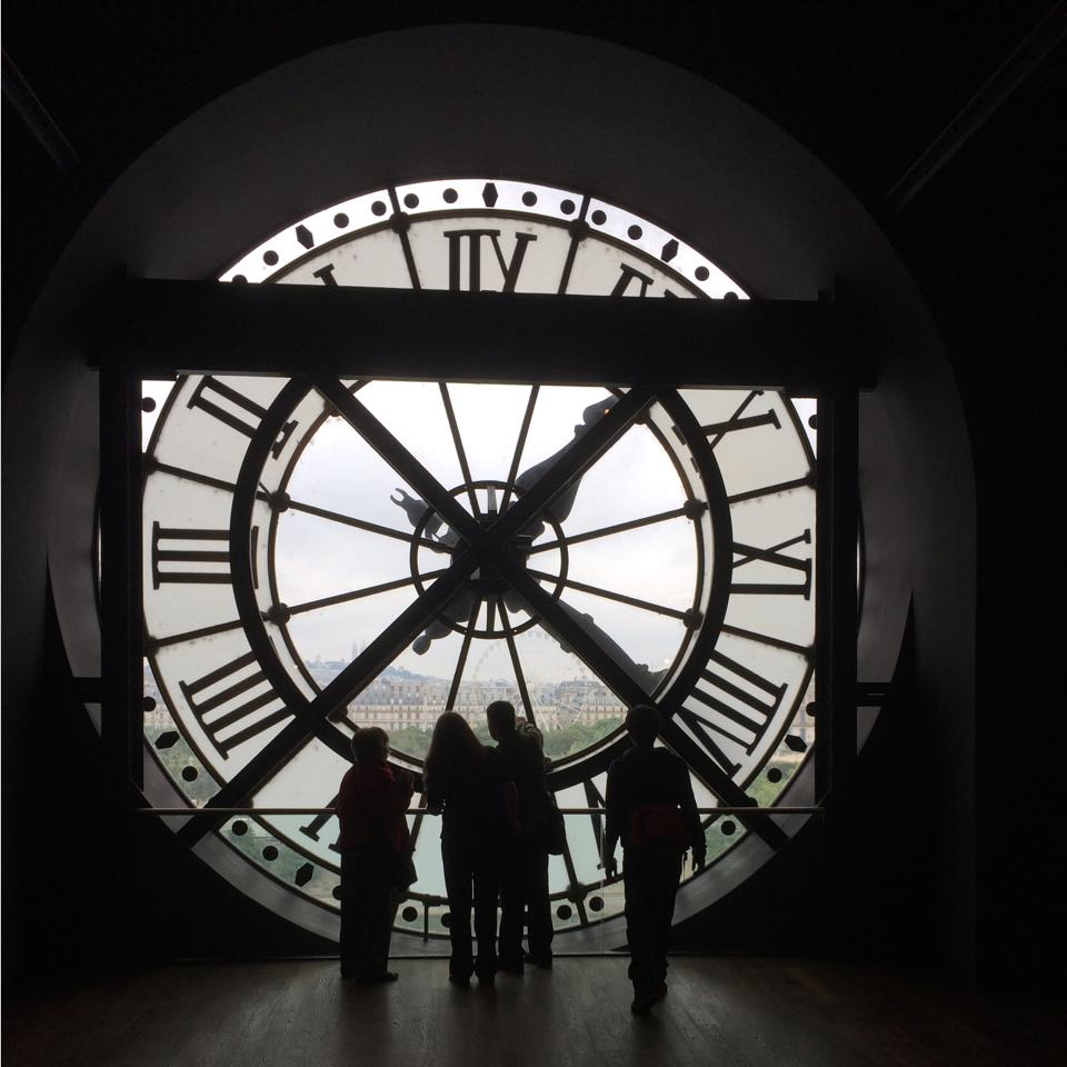 Orly Museum, Paris - the clock