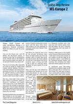 PDF thumb: Cruise Ship Review Europa 2
