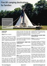 PDF thumb: Five UK camping destinations for families