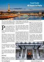 PDF thumb - Travel Guide: 48 hours in Paris