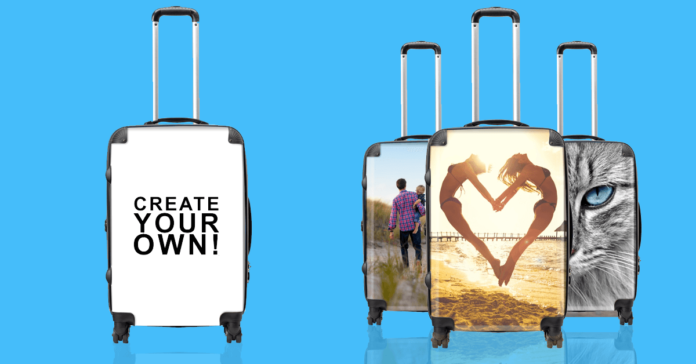 Personalised Luggage - create your own