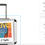 Personalised Luggage - add images