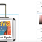 Personalised Luggage - add text