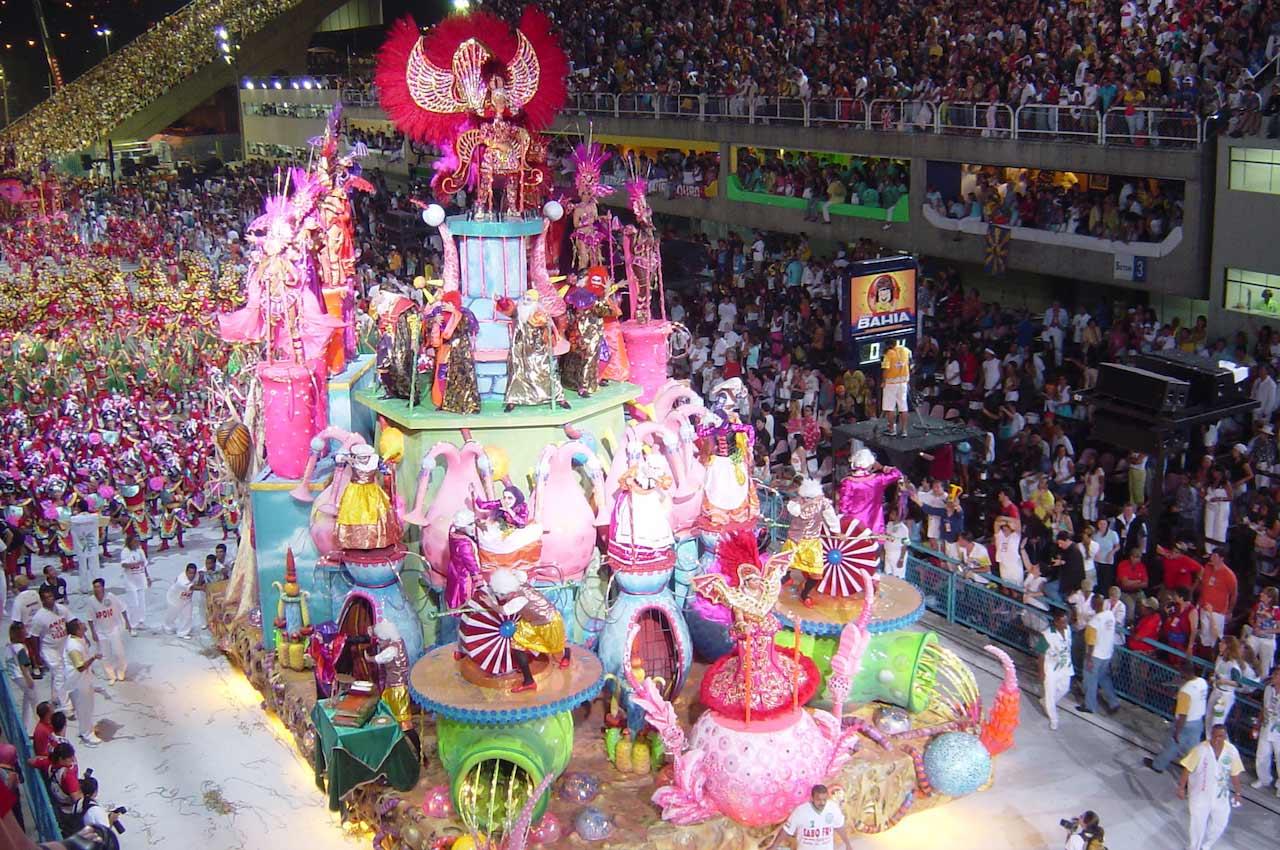 Rio Carnival - Inside the Sambadrome