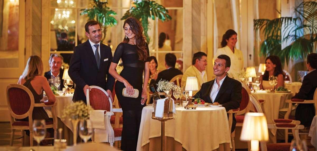 Belmond Reid's Palace Hotel: romantic dining