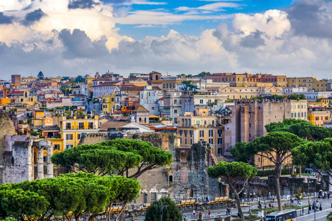 Rome roof tops