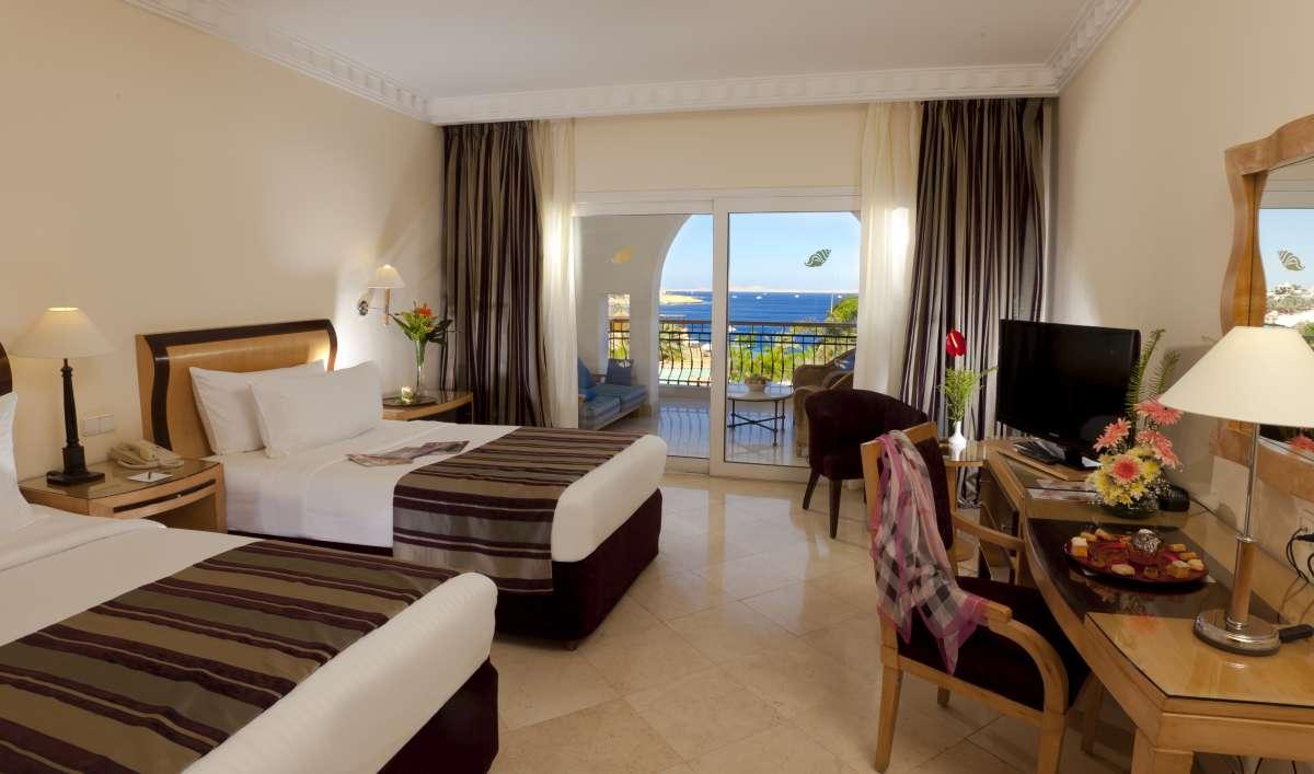 Savoy Sharm el Sheikh: sea view twin bedroom