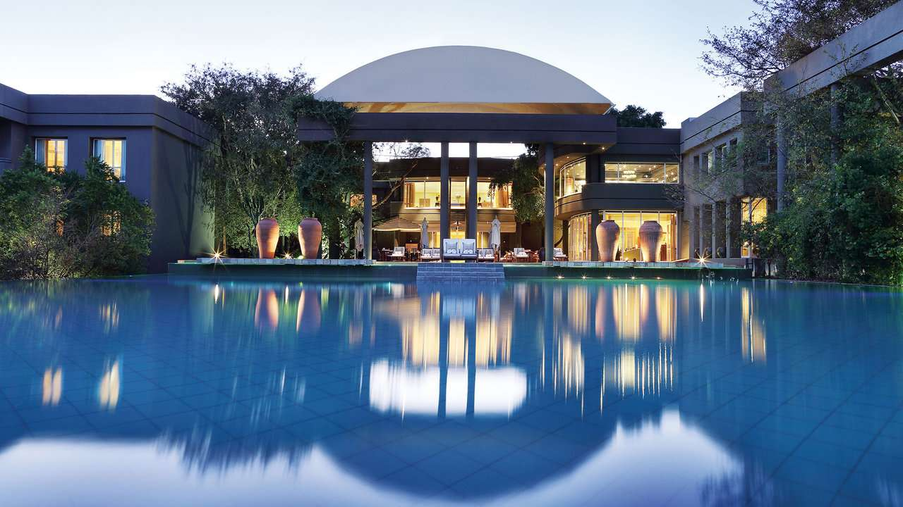 pool at Saxon Hotel, South Africa