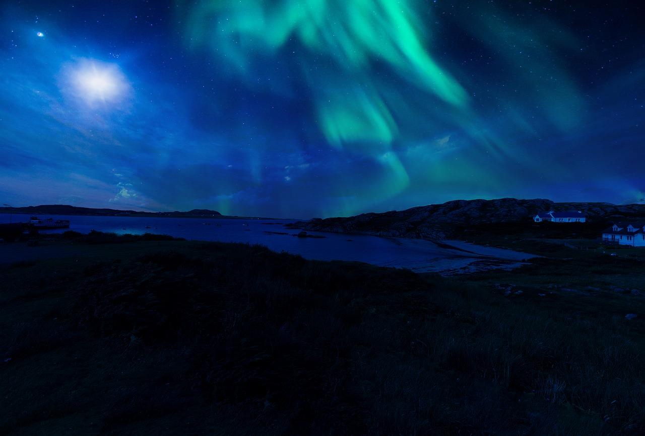 Northern Lights : Isle of Mull, Scotland