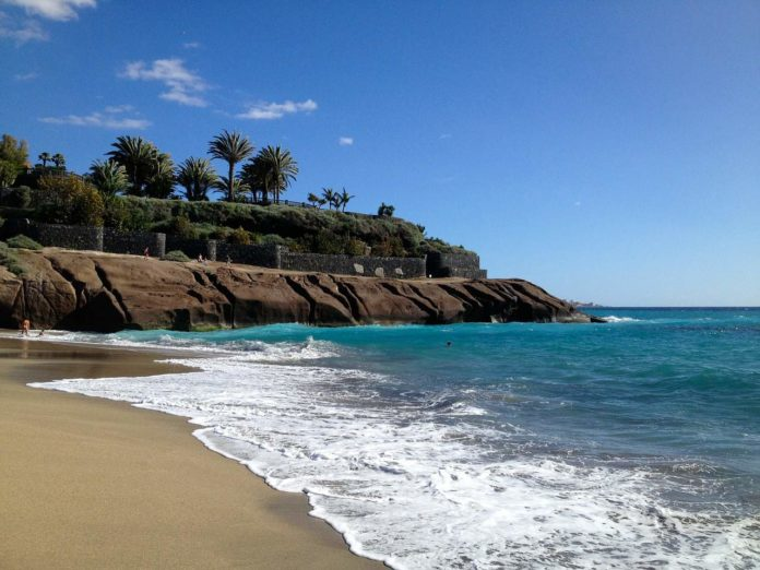 5 winter sun destinations easy to get to from the UK tenerife beach 696x522