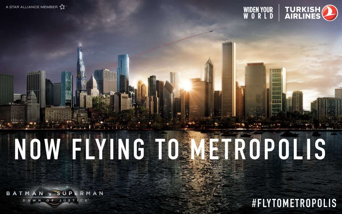 Turkish Airlines: now flying to Metropolis
