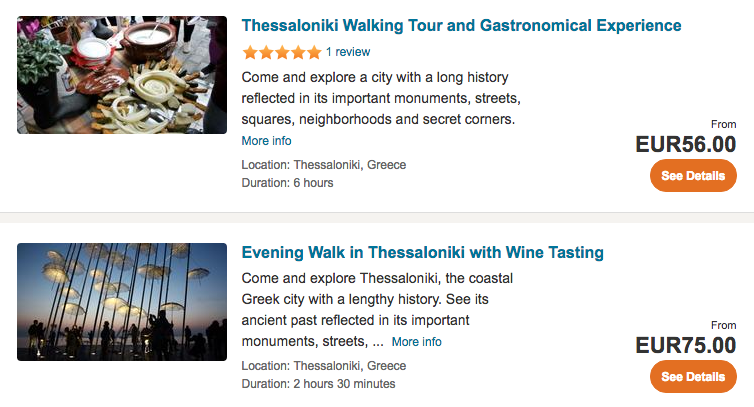 Thessaloniki tours & activities