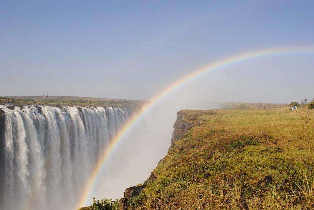Victoria Falls waterfall Zambezi Zimbabwe