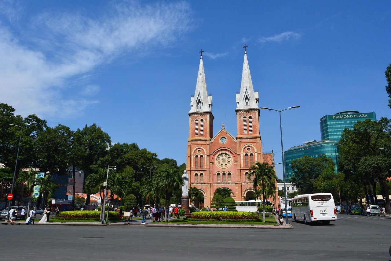 Vietnam Ho Chi Minh City cathedral