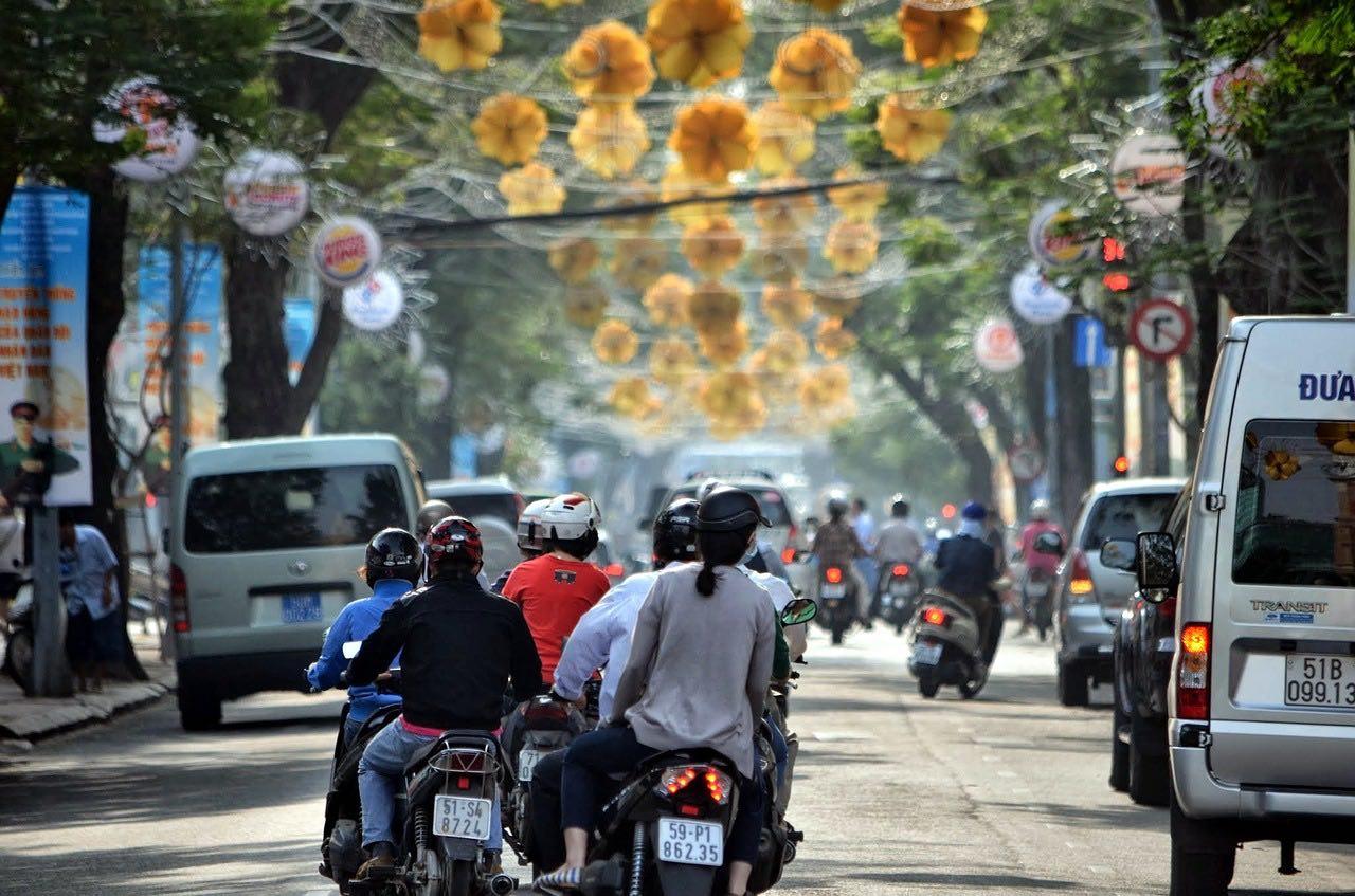 vietnam scooters