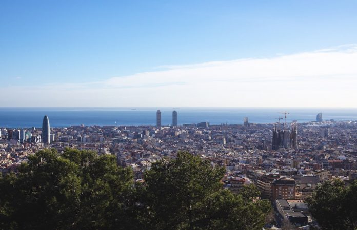 View of Barcelona from the Bunkers del Carmel
