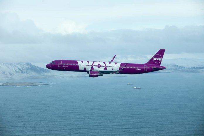 WOW air aircraft